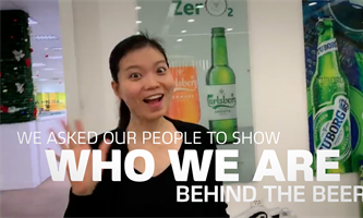 "Carlsberg ""Who We Are"" 40.000 dipendenti in un unico video"
